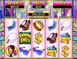 Shopping Spree II Slot Screenshot