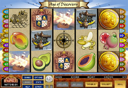 Age Of Discovery Slot Screenshot