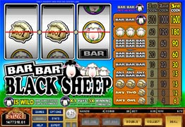 Bar Bar Black Sheep Slot Screenshot