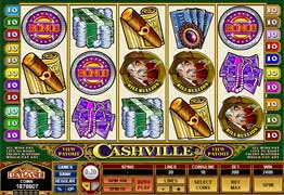 Cashville Slot Screenshot