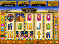 Cleopatra's Gold Slot Screenshot