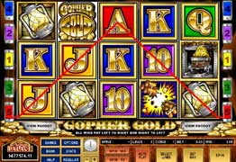 Gopher Gold Slot Screenshot