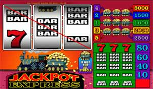Jackpot Express Slot Screenshot