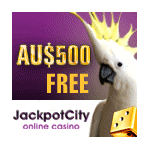 Australian Players welcome at Jackpot City Casino