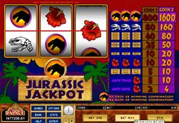 Jurassic Jackpot Slot Screenshot
