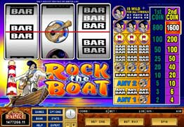 Rock The Boat Slot Screenshot