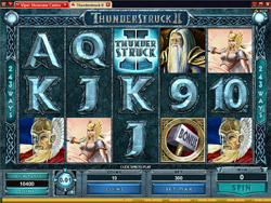 Thunderstruck 2 Slot Screenshot
