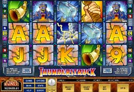 Thunderstruck Slot Screenshot