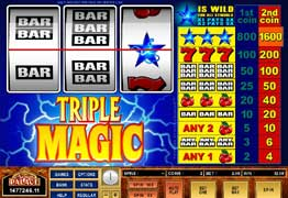 Triple Magic Slot Screenshot
